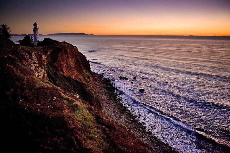 Coastal Sunset No Palm