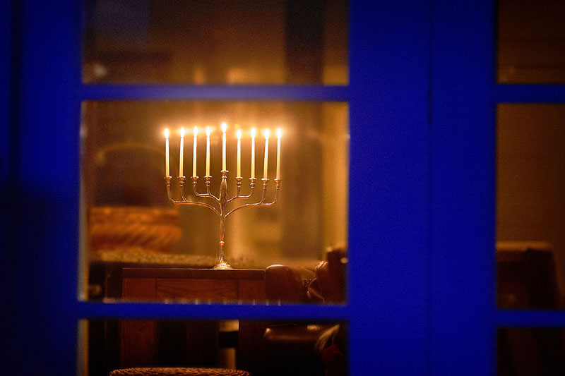 Menorah Window